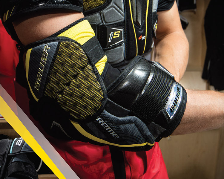 Bauer Supreme 1S Elbow Pads | Hockey Gear Nation